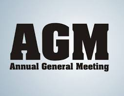 Annual General Meeting - Saturday 18 Aug 2018