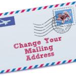 Change of Postal Address