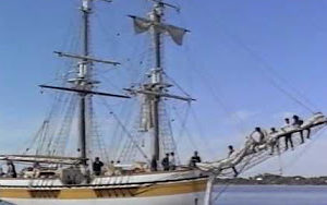 The Lady Nelson - The Replica Under Sail