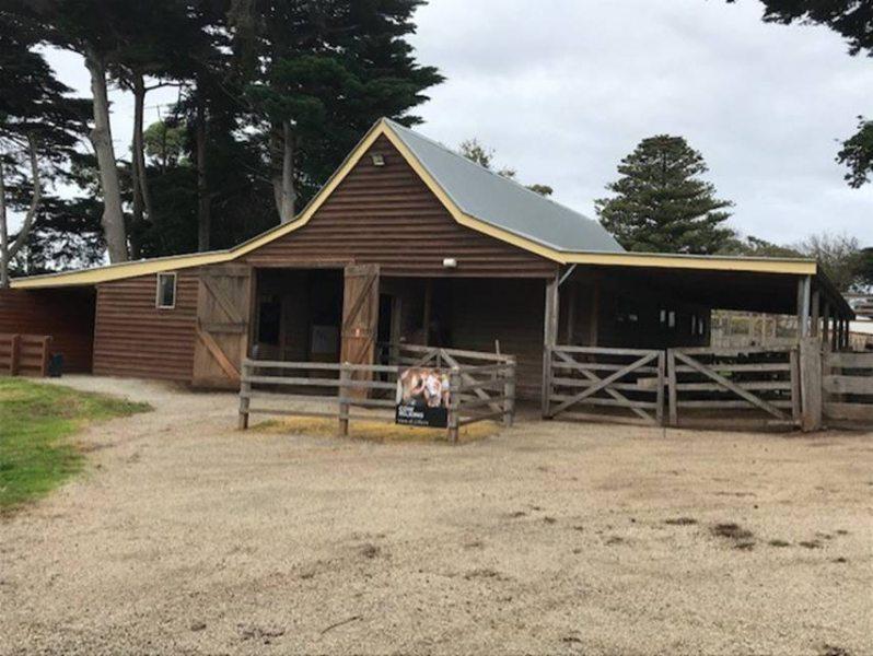 Barn Trim Repainted
