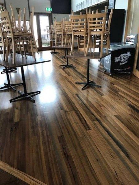 Cafe Floor Resealed