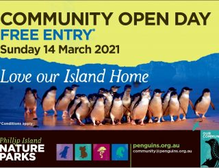 Phillip Island Nature Parks Community Open Day - Sunday 14 March 2021